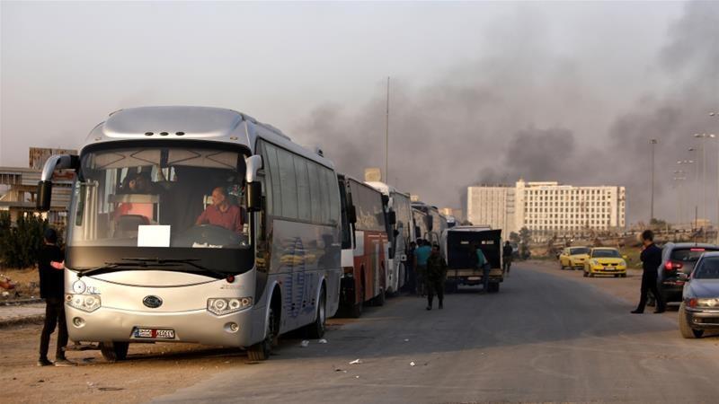 مُهجر من الغوطة