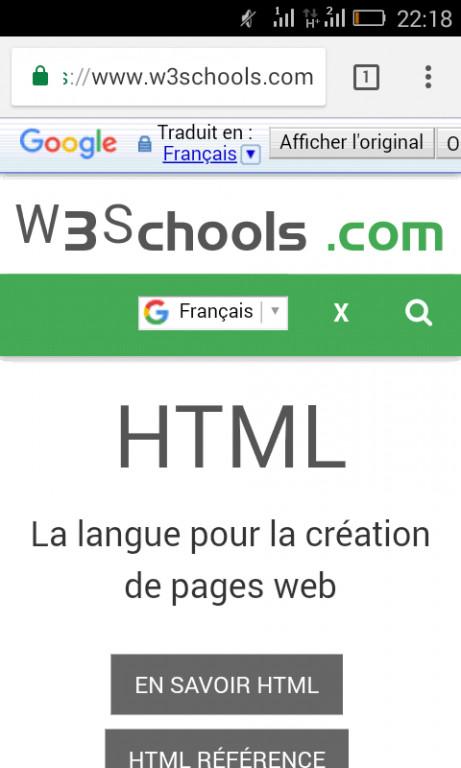موقع لتعلم أساسيات برمجة مواقع الويب