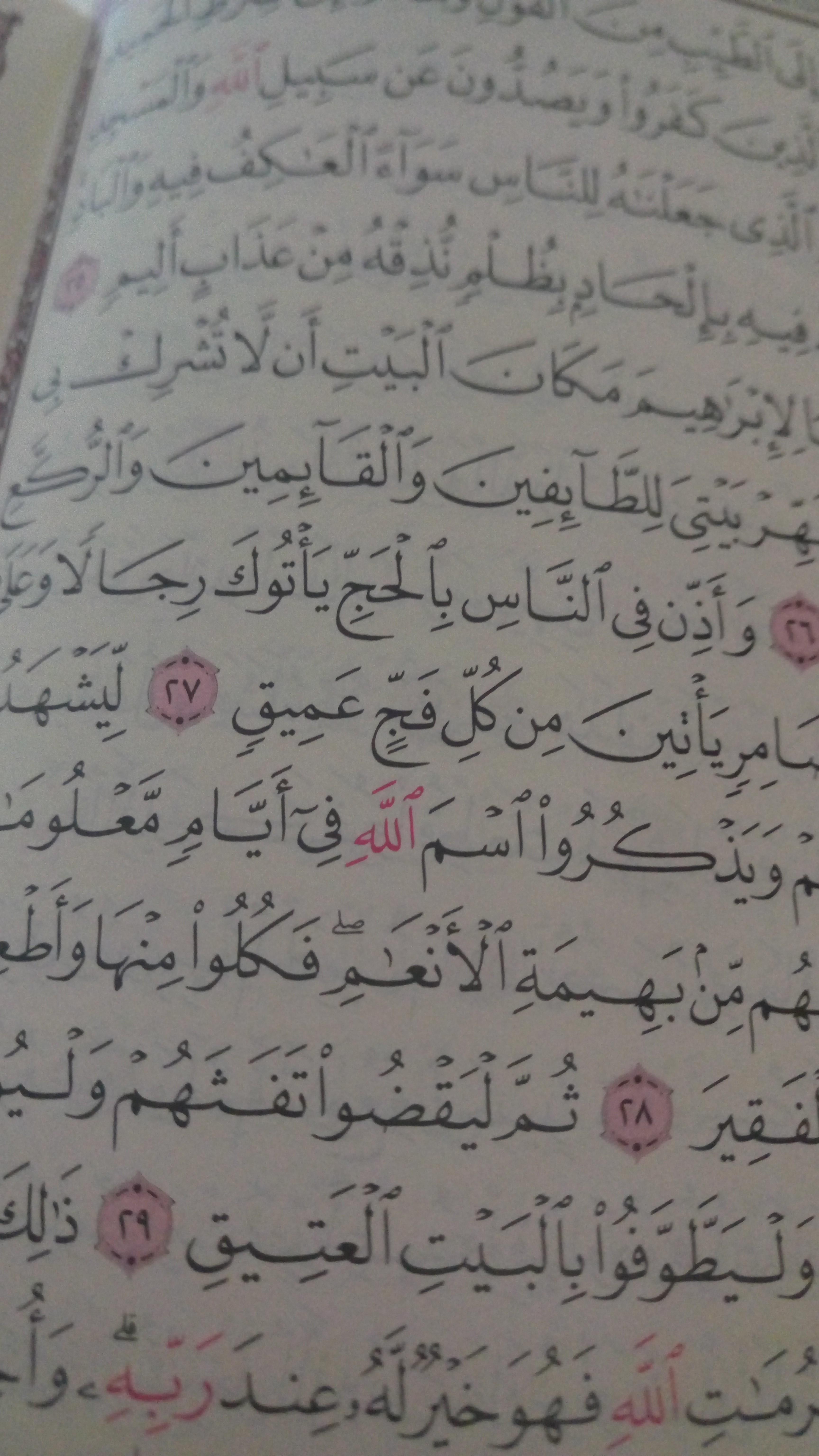 رحلتي مع القرآن