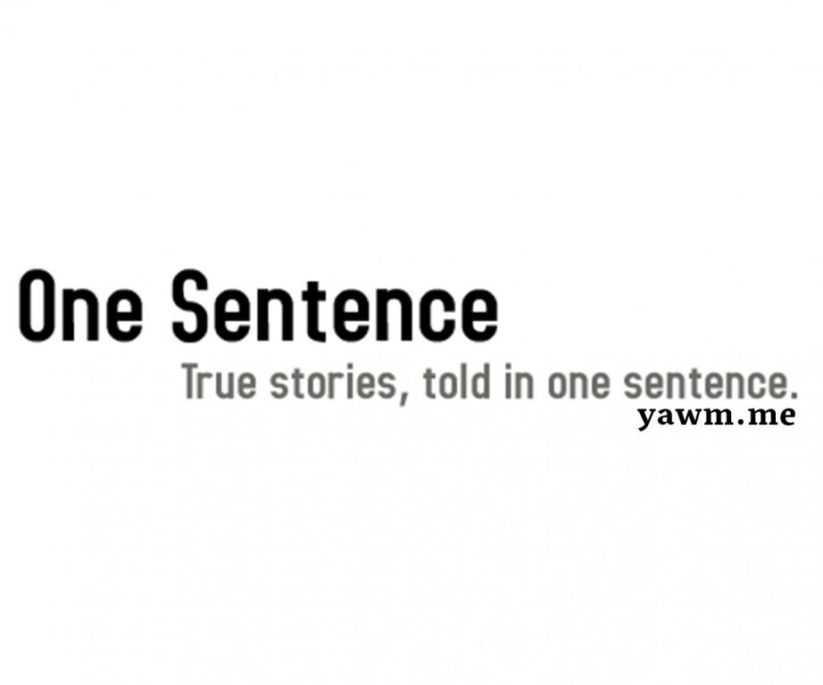 تحدي جملة واحدة يوميًا على يومي